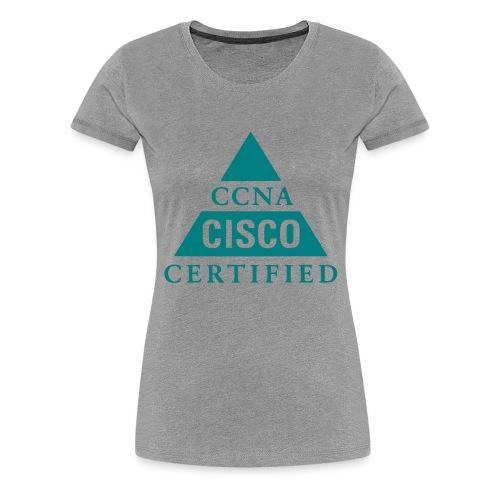 ccna male - Koszulka damska Premium