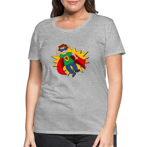 Superheld - Frauen Premium T-Shirt