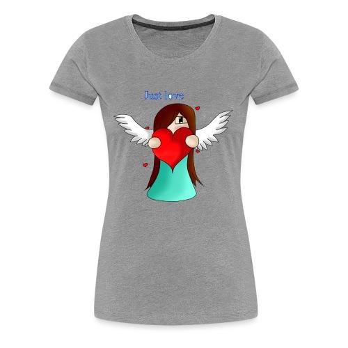 love - T-shirt Premium Femme