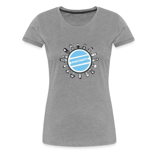 BancoFamily stick - Maglietta Premium da donna
