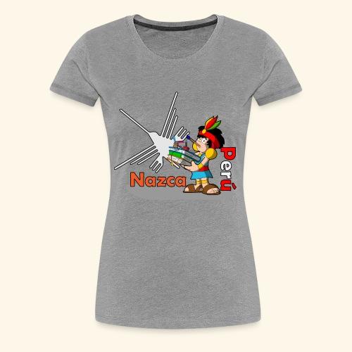 Nazca - Camiseta premium mujer