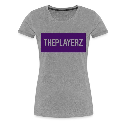 The PlayerZ Long sleeve Top - Women's Premium T-Shirt