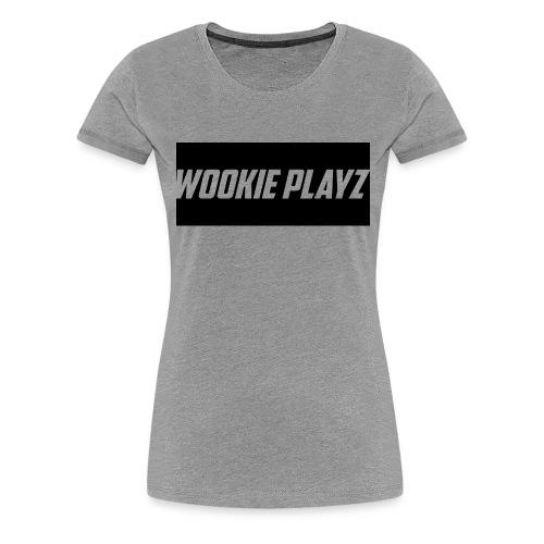WOOKIE PLAYz HOODIE - Women's Premium T-Shirt