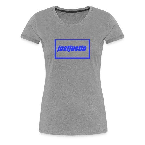 justjustin cap - Women's Premium T-Shirt