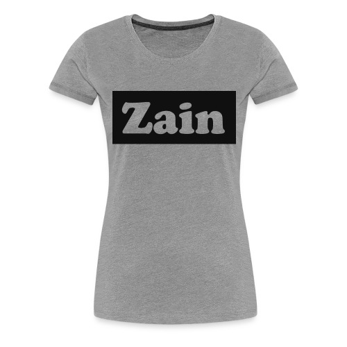 Zain Clothing Line - Women's Premium T-Shirt