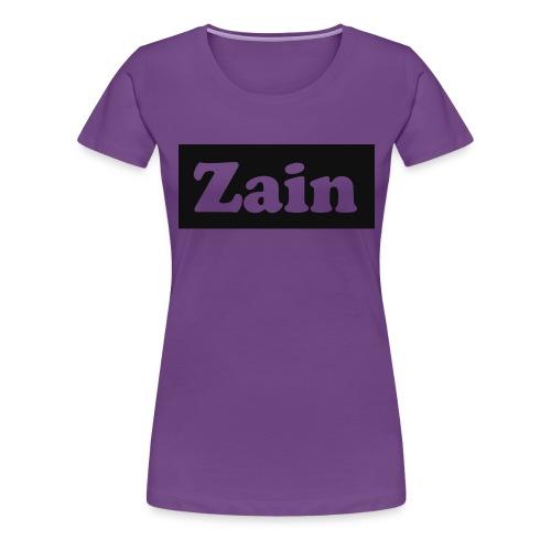 Zain Clothing Line - Women's Premium T-Shirt