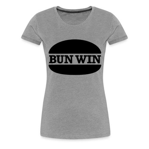 bunwinblack - Women's Premium T-Shirt