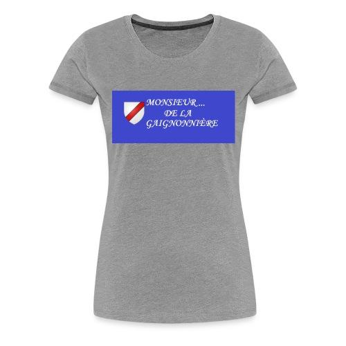 Du Reau_de_La_Gaignonnier - T-shirt Premium Femme