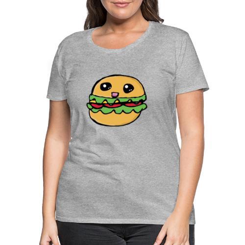 Hamburger kawai - T-shirt Premium Femme
