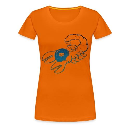 Space Scorpions?! (Stars) - Women's Premium T-Shirt