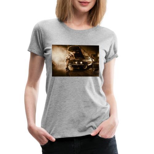 US Cars und Pinup-Girl Part II - Frauen Premium T-Shirt