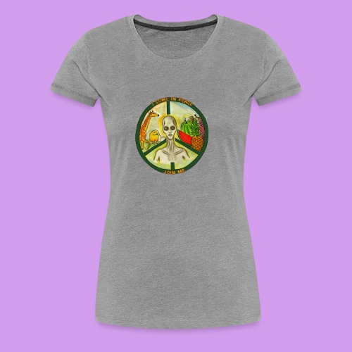 Katt Willow - Women's Premium T-Shirt