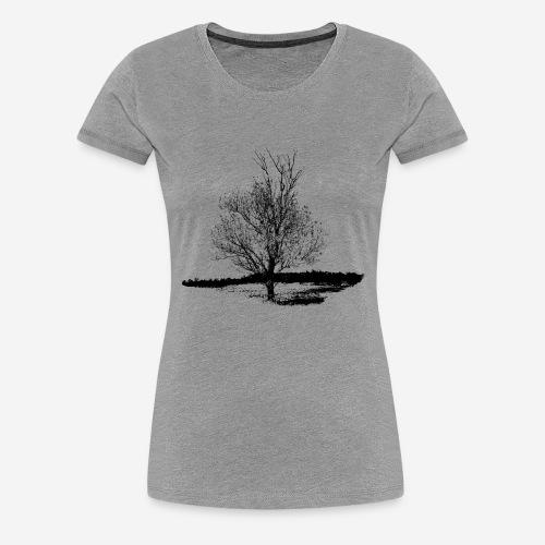 Tree #001 - Women's Premium T-Shirt
