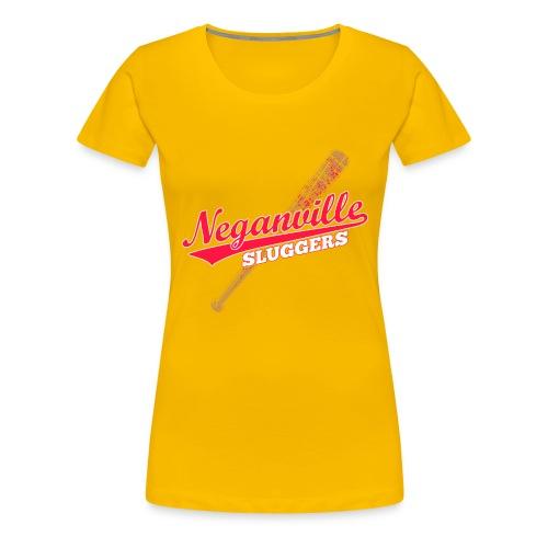 Neganville Sluggers - Women's Premium T-Shirt