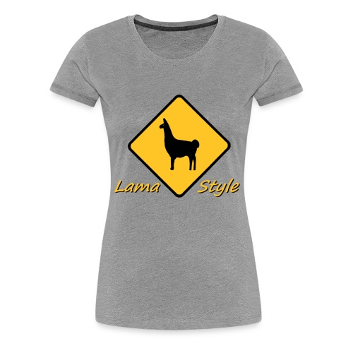 Lama Style - T-shirt Premium Femme