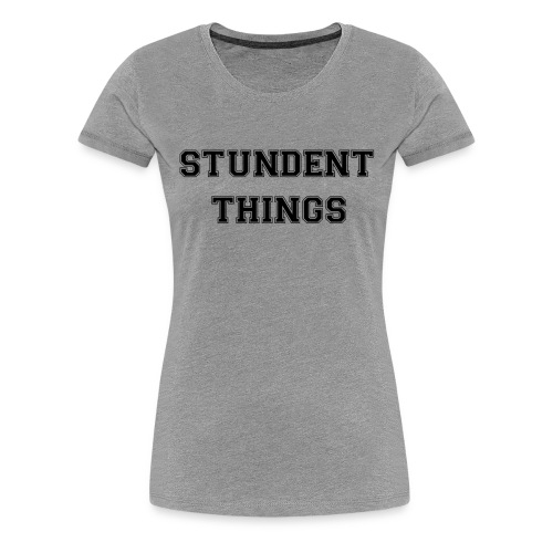 studentthings png - Frauen Premium T-Shirt