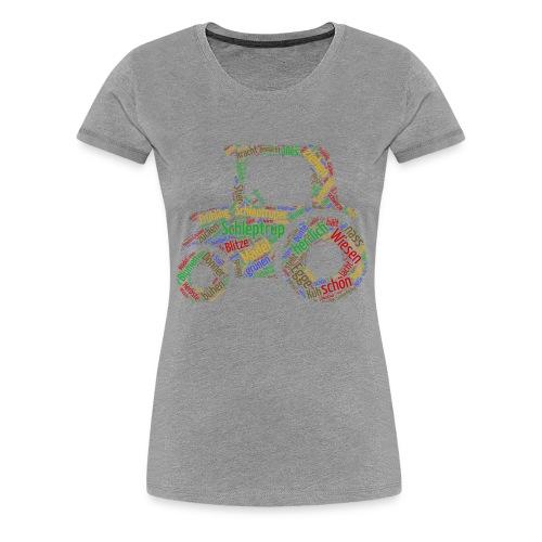 Schleptrup Trecker - Frauen Premium T-Shirt