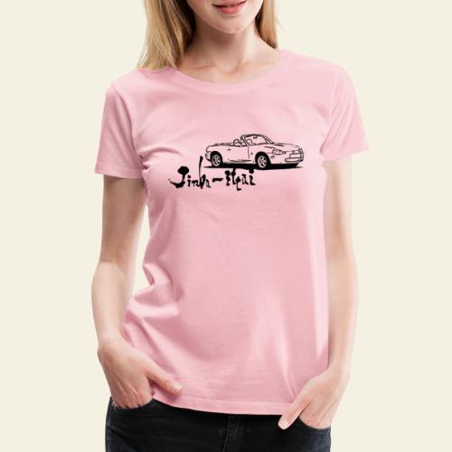 mx5 nb - Dame premium T-shirt