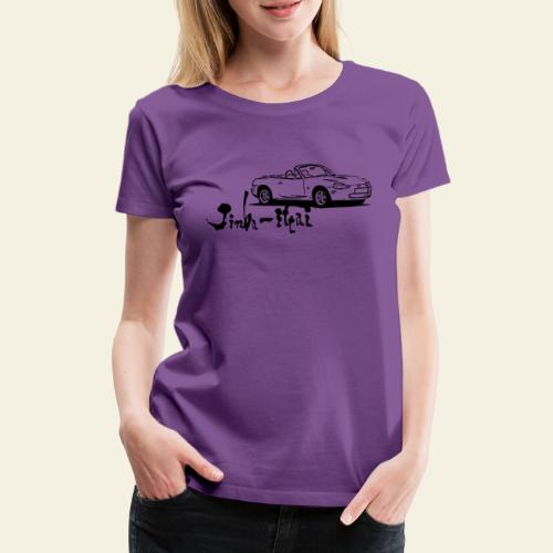 mx5 nb - Dame premium T-shirt