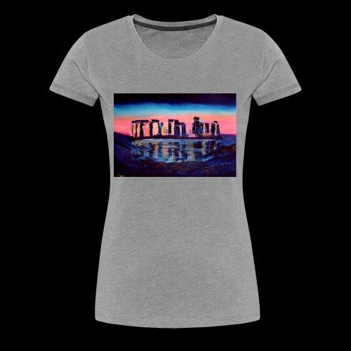 Stonehenge - Frauen Premium T-Shirt