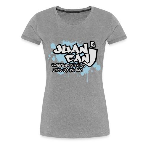 Juan can logo for spreadshirt - Women's Premium T-Shirt