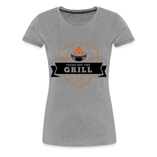 Fresh off the Grill 4C - Frauen Premium T-Shirt