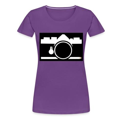 Vintage Camera - Maglietta Premium da donna