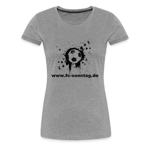 FC Sonntag Ball - Frauen Premium T-Shirt