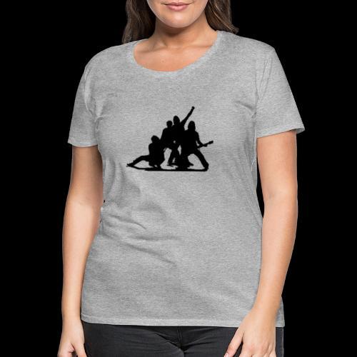 Glimmer siluett - Premium T-skjorte for kvinner
