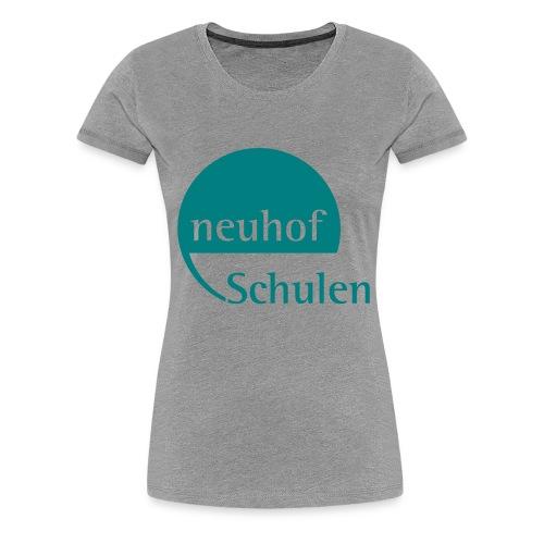Logo neuhof Schulen - Frauen Premium T-Shirt