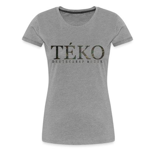 DFRYYYYY png - Frauen Premium T-Shirt