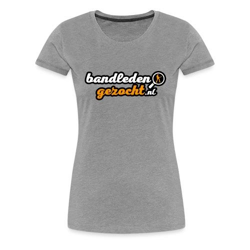 Bandledengezocht.nl - Vrouwen Premium T-shirt