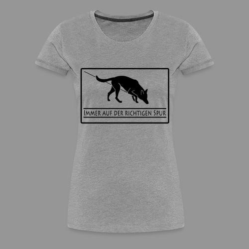 Fährtenhund - Frauen Premium T-Shirt