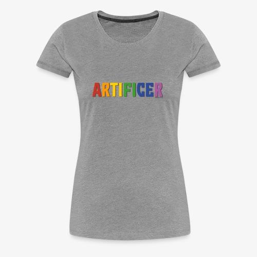 Artificer Pride (Rainbow) - Women's Premium T-Shirt