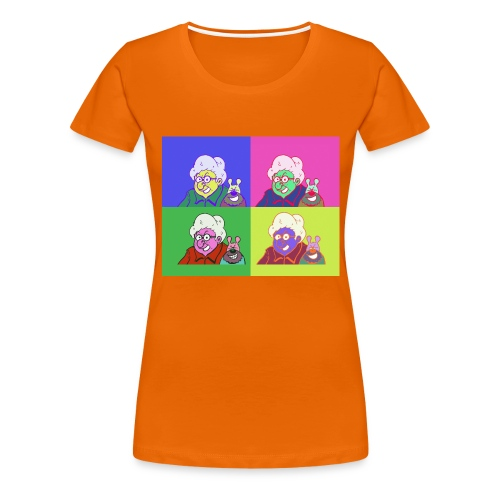 Polete facon warhol - T-shirt Premium Femme