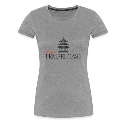 Tempeloase - Frauen Premium T-Shirt