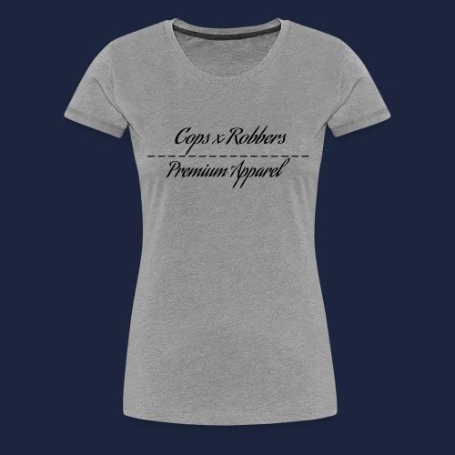 CxR Raglan with Premium Apparel large print across - Women's Premium T-Shirt