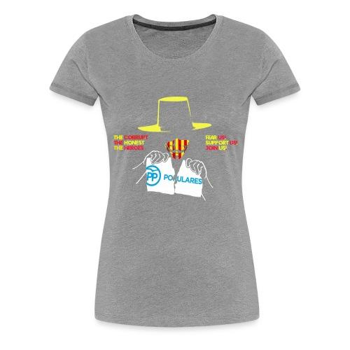 Catlauña Anonymous - Camiseta premium mujer