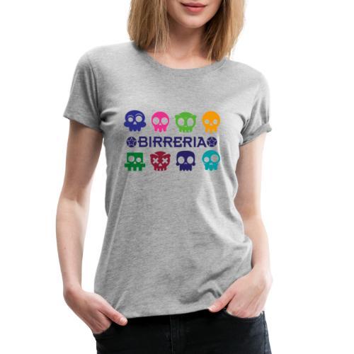 Kids color Skulls - Frauen Premium T-Shirt