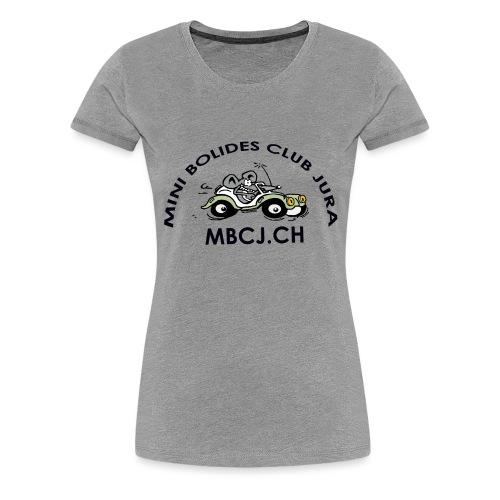 logo MBCJ complet 50cm - T-shirt Premium Femme
