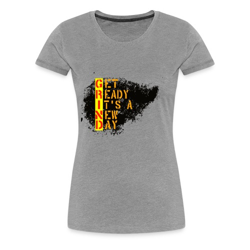 New Fresh Day - T-shirt Premium Femme