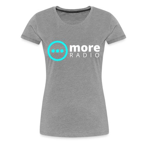 More Radio - Vrouwen Premium T-shirt