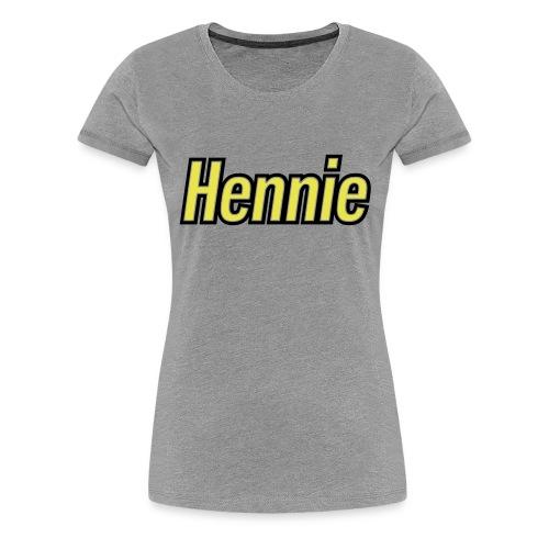 hennie2 - Vrouwen Premium T-shirt