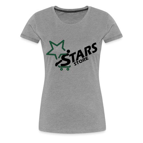 Logo Stars Store - Frauen Premium T-Shirt