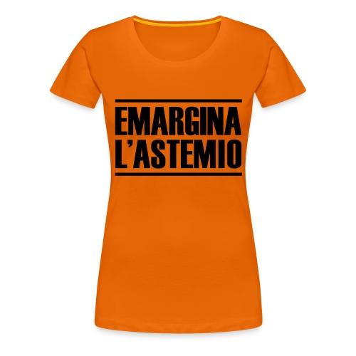emargina l'astemio - Maglietta Premium da donna