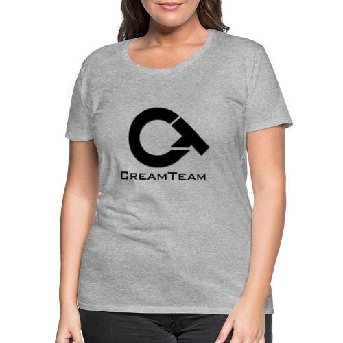 CREAMTEAM - Premium T-skjorte for kvinner