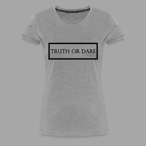 Western Truth or Dare Tee - Women's Premium T-Shirt
