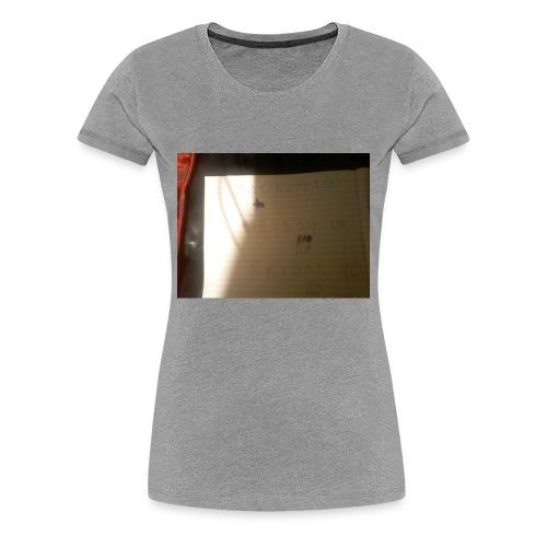 Ohohw - Vrouwen Premium T-shirt