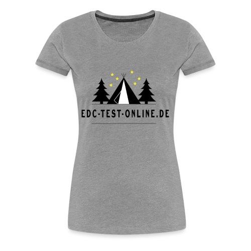 edctestonline.de - Frauen Premium T-Shirt