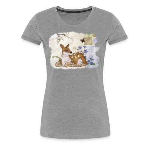 spring fawn - Women's Premium T-Shirt